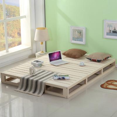 木板床榻榻米床图片