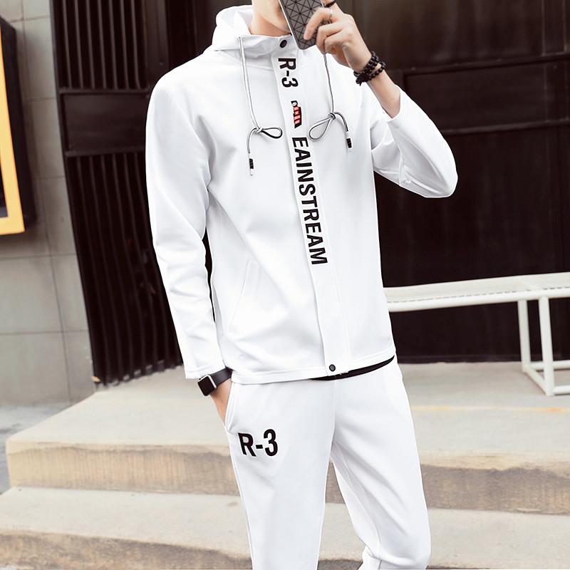 2017秋季新款学生青少年男士春季卫衣男装外套潮男学生春装连帽开衫