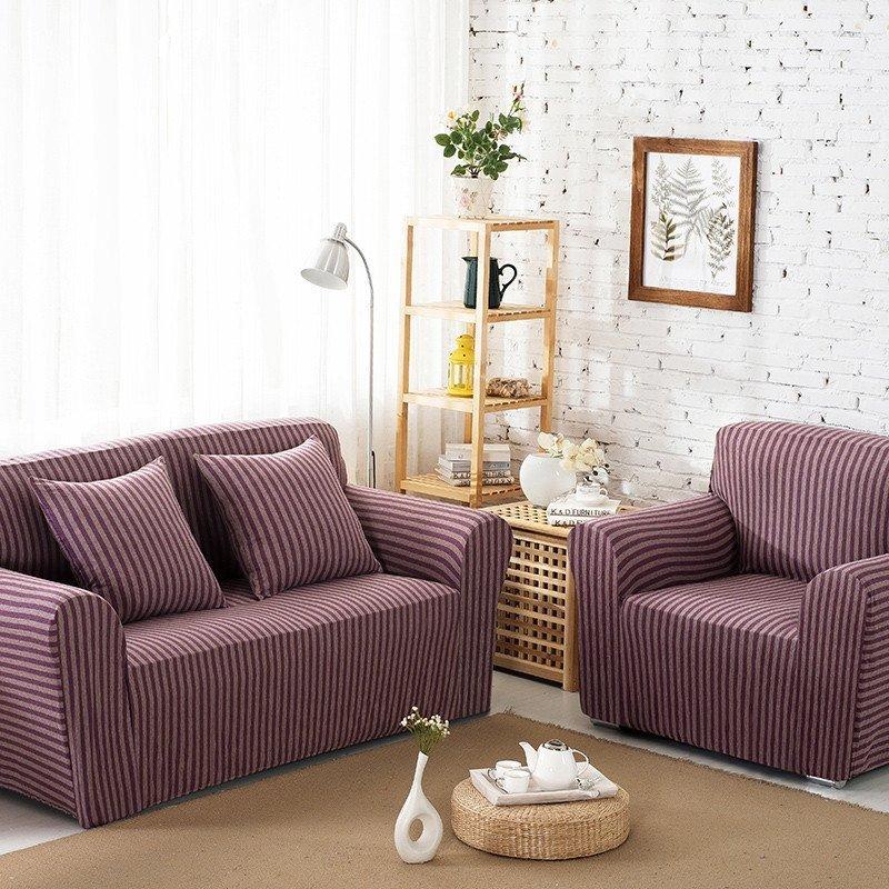 家居布艺针织棉万能沙发套单双人组合沙发垫全包围沙发罩沙发巾抱枕