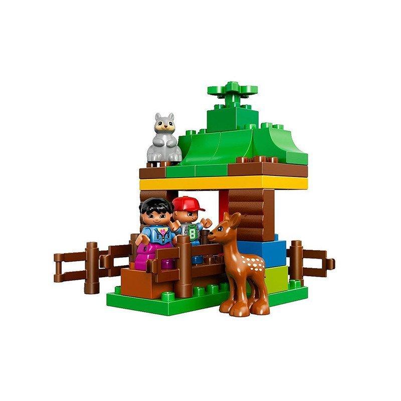 lego/乐高 得宝大颗粒 10582 森林小动物