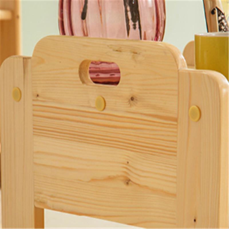 北欧芬兰松实木床头柜简约简易整装储物学生