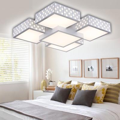 长方形卧室灯餐厅灯书房灯时尚吸顶灯