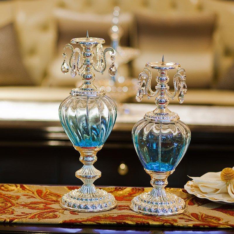欧式创意浪漫摆件玄关家居装饰品客厅房间家具摆设电视柜田园家装