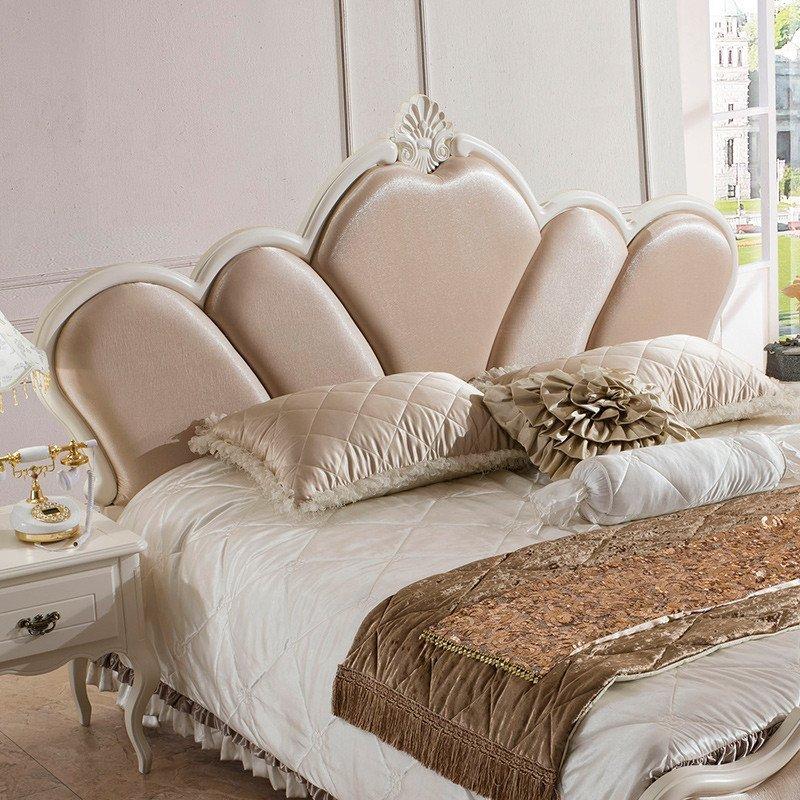 欧式田园公主婚床