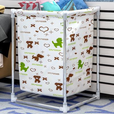 艾格調臟衣籃 折疊臟衣簍儲物桶大號臟衣服收納筐布藝家用洗衣籃
