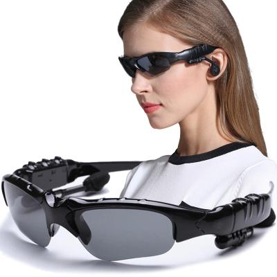 【听歌打电话.蓝牙偏光眼镜 】无线运动升级版智能蓝牙眼镜耳机眼镜偏光太阳镜立体声听歌接电话头戴式眼镜