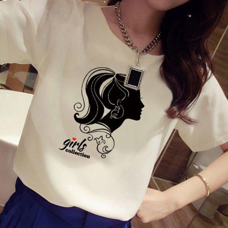 莲香鸟2016夏季闺蜜姐妹装短袖印花女孩头像韩版宽松上衣t恤女