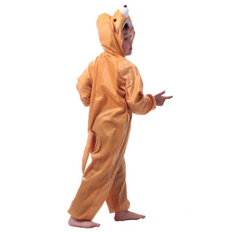 圣诞节儿童动物表演演出服装卡通动物服饰衣服连体衣可爱动物服装