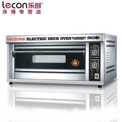 lecon/乐创洋博 MFT-20 一层二盘商用烤箱 两盘电烤箱商用 蛋糕披萨蛋挞烘炉 奶茶设备 大型面包烤炉