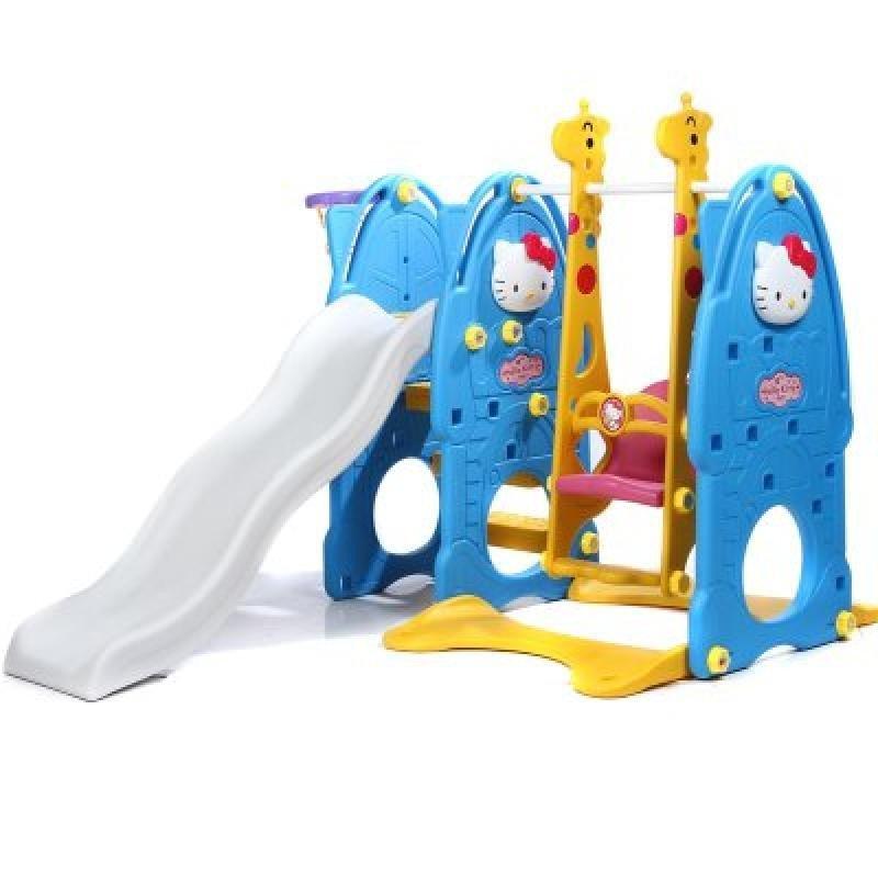 合嘉乐宝宝滑梯秋千室内乐园儿童滑梯 室内儿童游乐园滑滑梯海洋球池