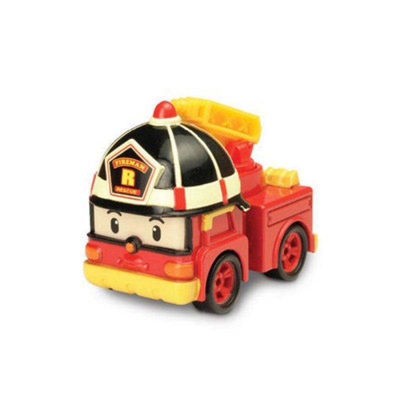 韩国q版珀利变形机器人战队 升级版poli小警车玩具儿童益智动漫变形车