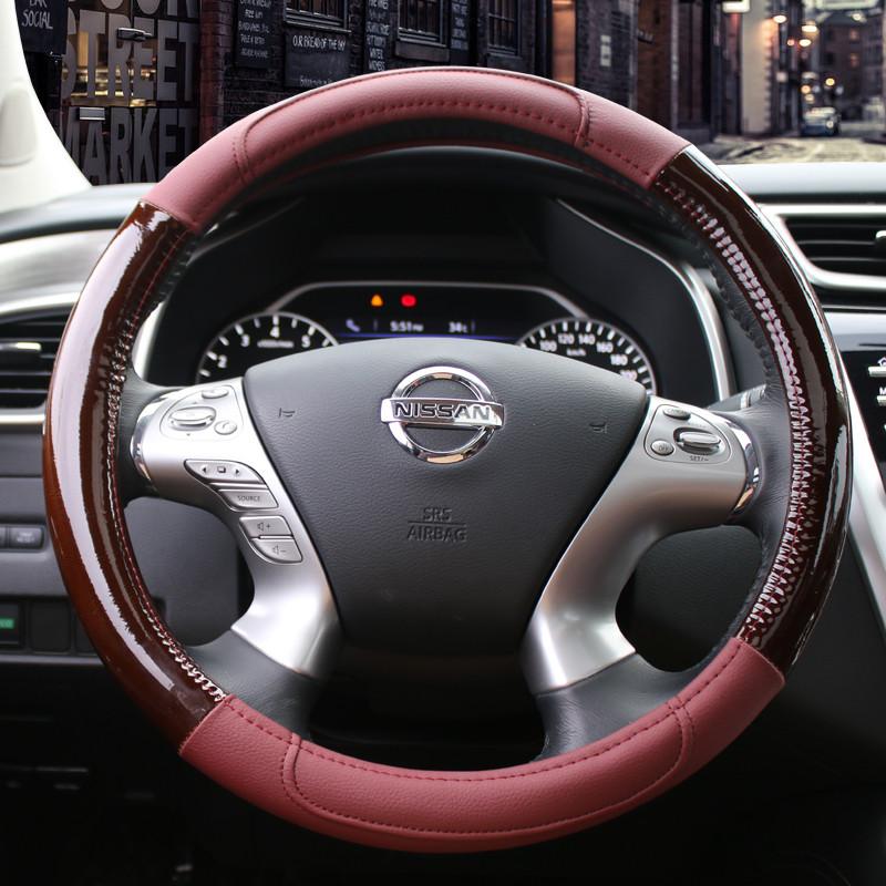 汽车皮方向盘把套本田丰田现代起亚奔驰宝马汽车通用方向盘套