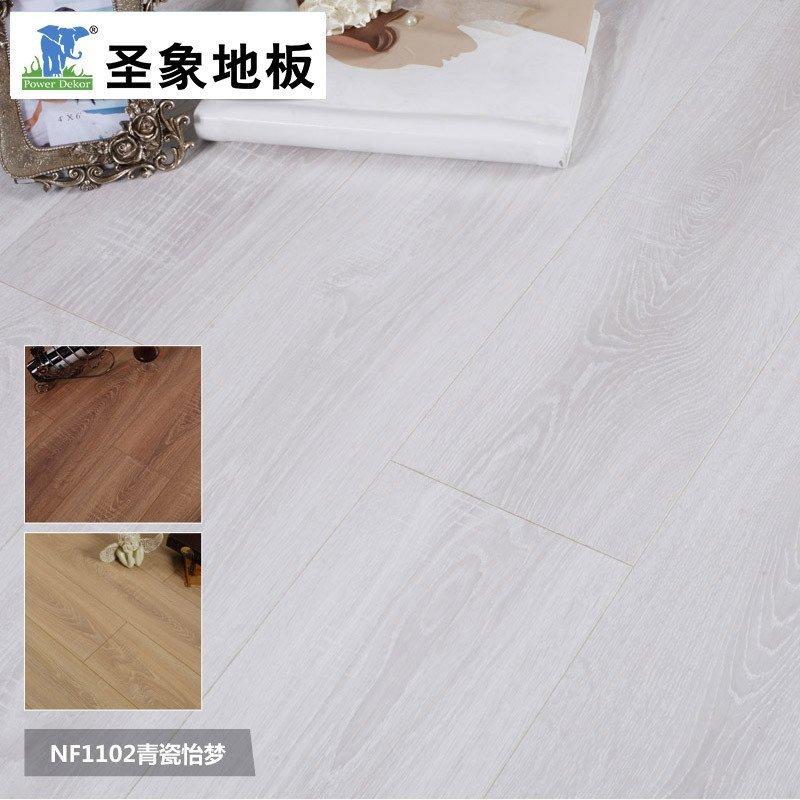 圣象地板 f4星10mm厚浮雕面f卫士 强化复合木地板 超强耐磨nf1101