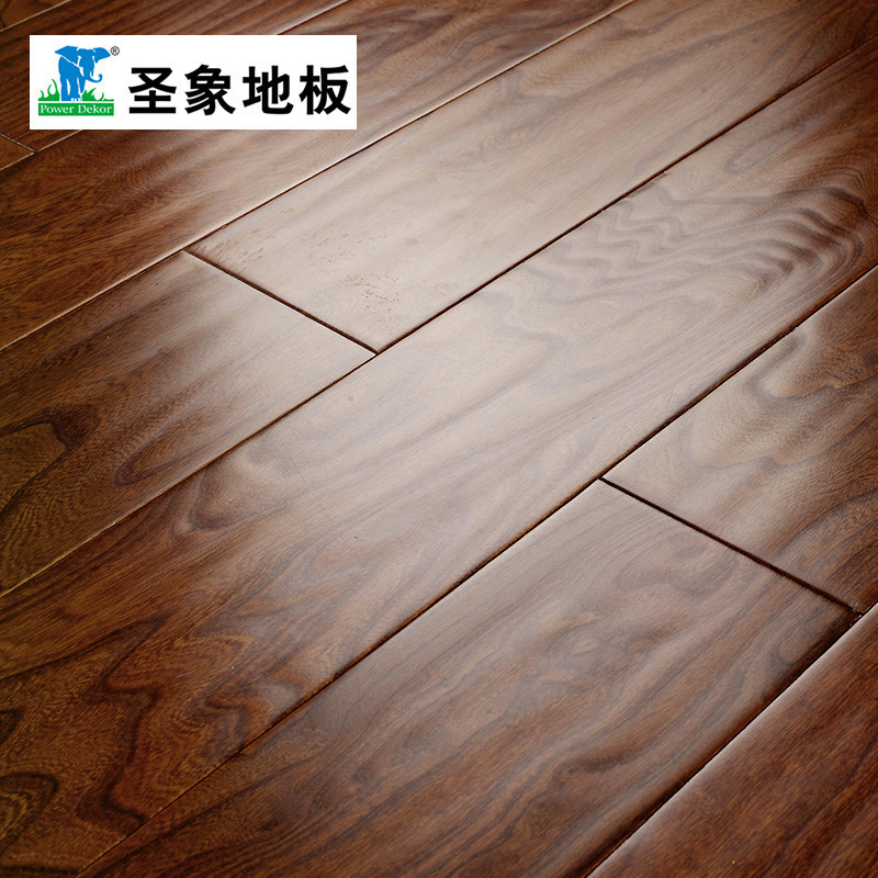 圣象地板 家装建材榆木地板 多层实木复合地板nap8147