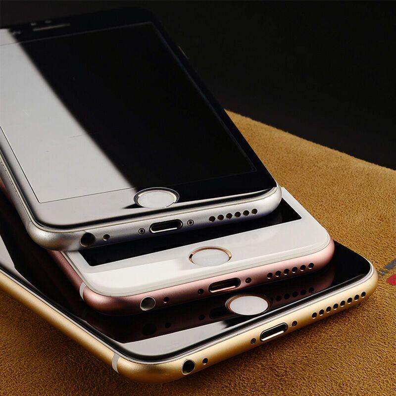 魔壳(moke)iphone7/6s/6全屏全覆盖钢化膜手机6/7苹果3d曲面软边不锈钢宽边盆图片