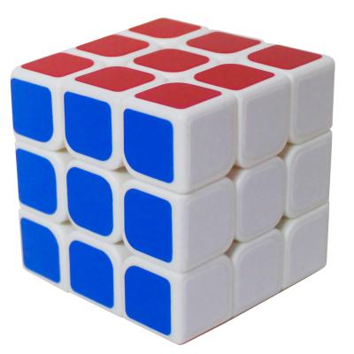 魔方教室3阶魔方三阶贴纸魔方白底顺滑比赛专用稳定防飞棱送教程