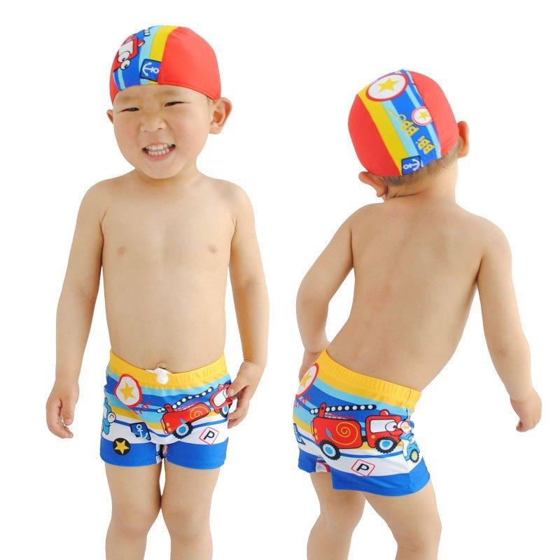 小男孩游泳衣婴儿沙滩温泉泳装小