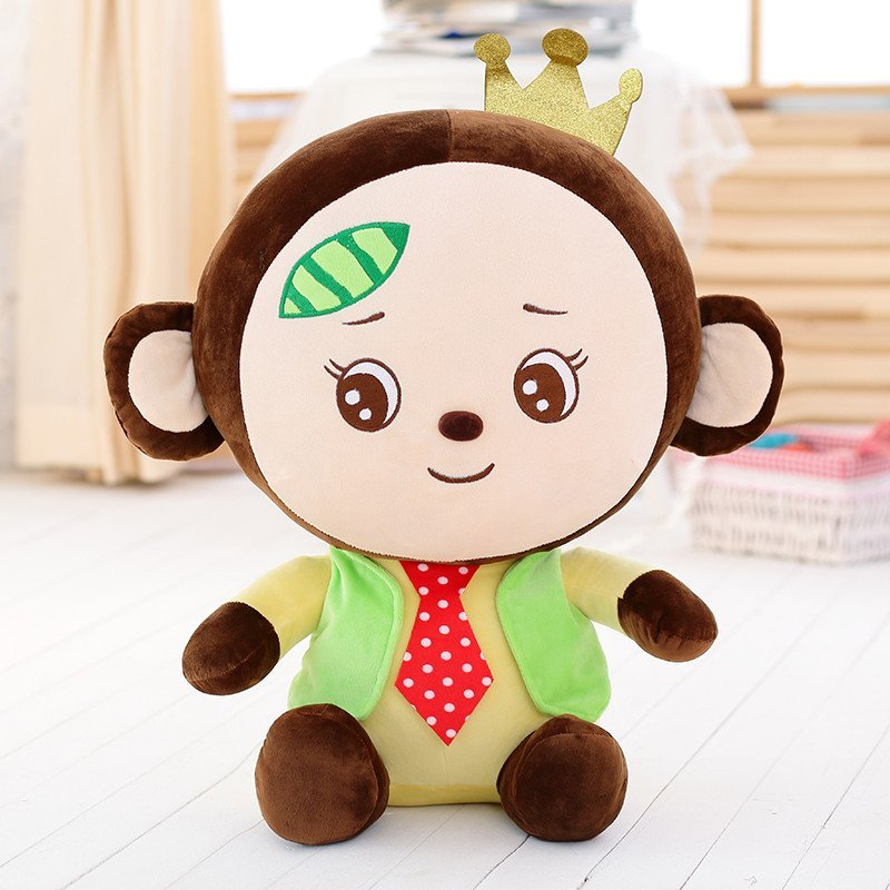 开心大嘴猴卡通毛绒玩具可爱布娃娃大号情侣生日礼物