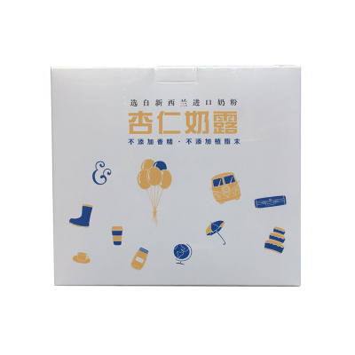 白族段妈妈 杏仁奶露 营养代餐冲泡即食盒装一盒10包250g奶茶粉