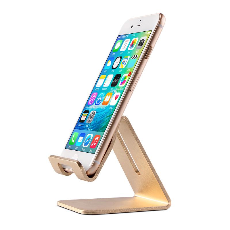 手机桌面支架金属可充电懒人支架iphone6三星小米ipad平板通用创意