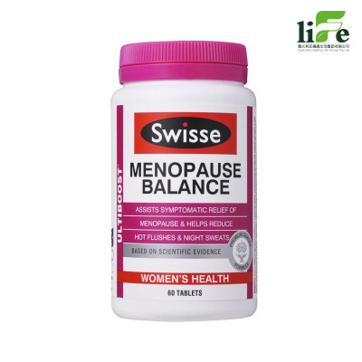 Swisse 大豆異黃酮 女性更年期平衡營養素 60粒 原裝進口 瓶裝【澳大利亞直郵】