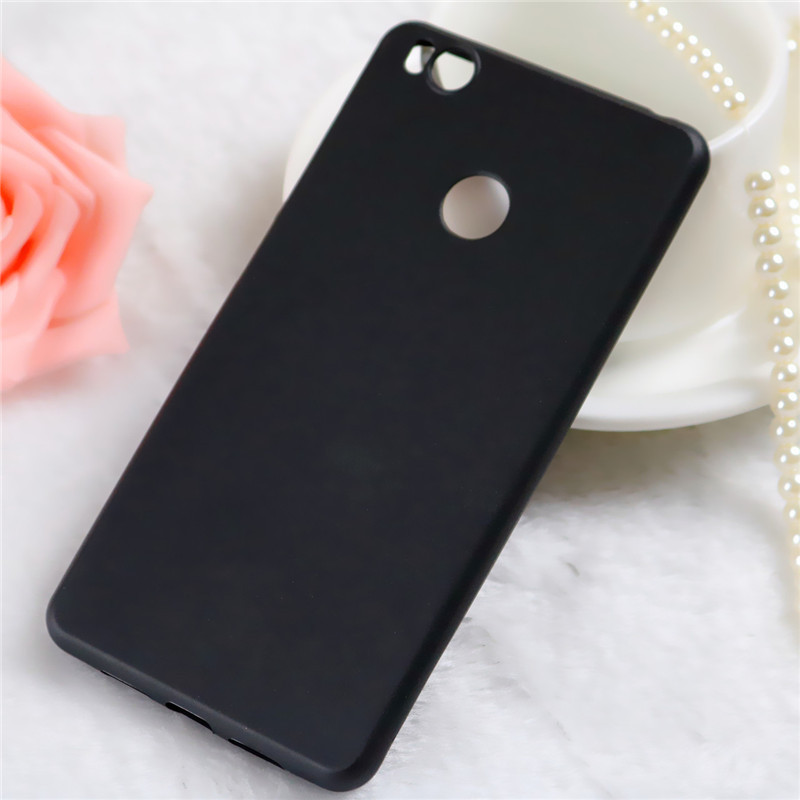 sauk 小米4s磨砂手机壳新款mi4s黑色手机软套