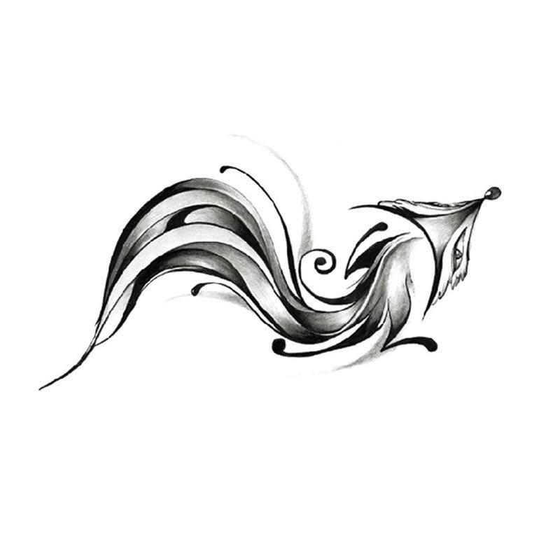 多美娜(domona)防水纹身贴 恶魔天使系列 10.5x6cm 防水透气 安全无痛