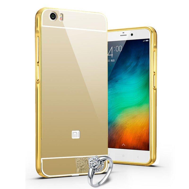 小米note手机套 小米note手机保护套 小米note手机外壳 金属边框 镜面