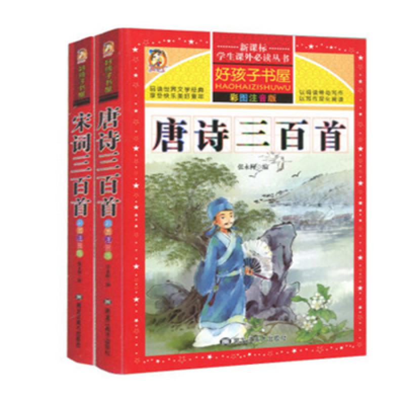诗三百首书儿童版中华中国成语故事猜谜语绕中心安兴镇小学图片