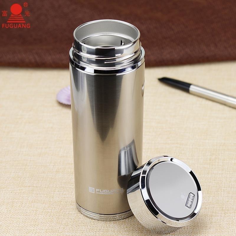 富光不锈钢真空保温杯350ml礼品杯 男士女士水杯子 高档茶杯正品3277