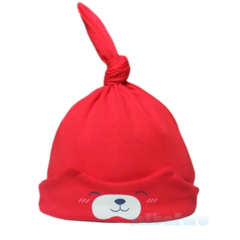 纯棉宝宝套头帽 新生儿帽子