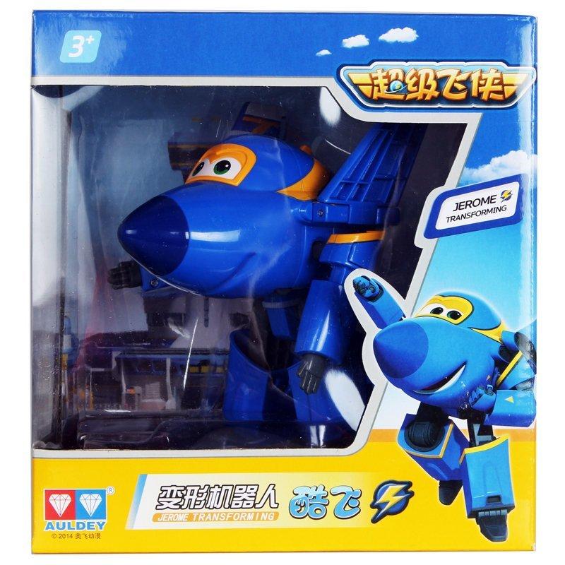 超级飞侠公仔玩偶 儿童变形玩具 变形机器人小飞机 变形机器人-酷飞