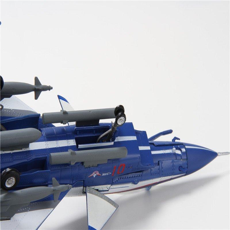 特尔博1:60歼10表演机飞机模型 仿真合金金属拼装模型 玩具战斗机模型