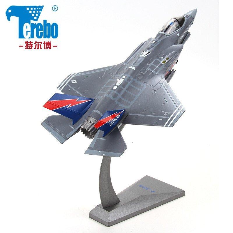 f35战斗机合金飞机模型f35b垂直起降