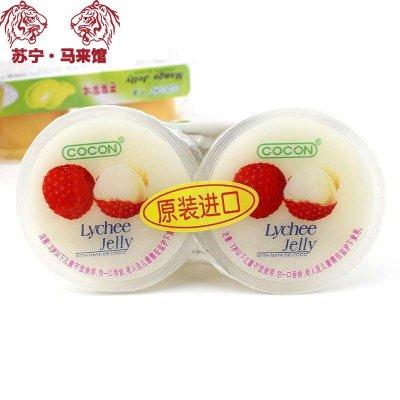 馬來西亞館 可康/Cocon 果凍(果味型)荔枝味 236g*1套