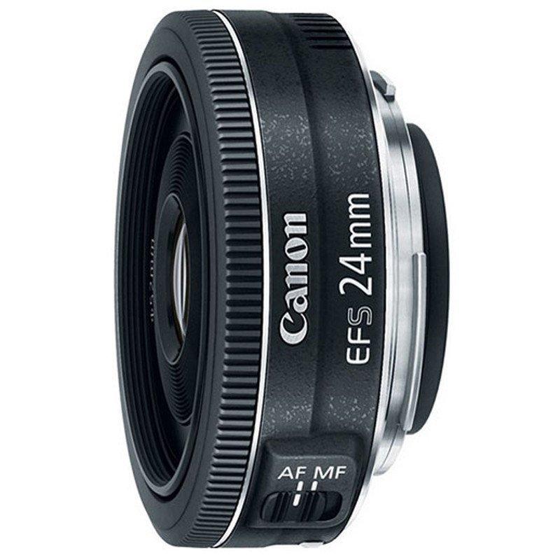 佳能(canon)ef-s 24mm f2.8 stm原装广角定焦镜头