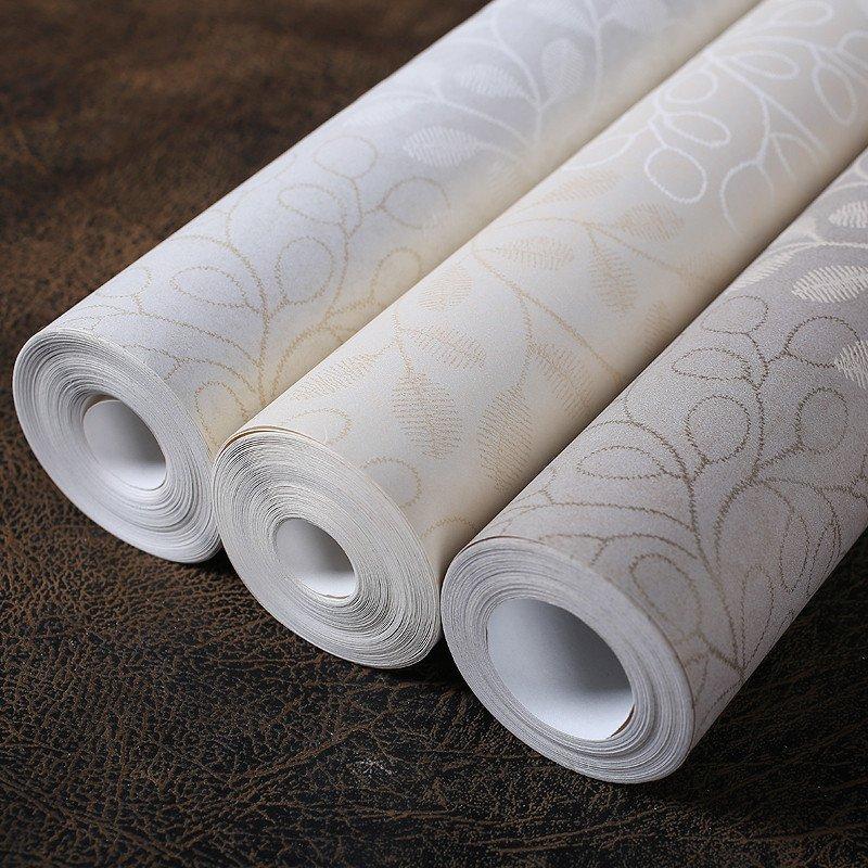 欣旺韩式壁纸 碎花无纺布简约卧室墙纸 温馨卧室客厅书房壁纸花语