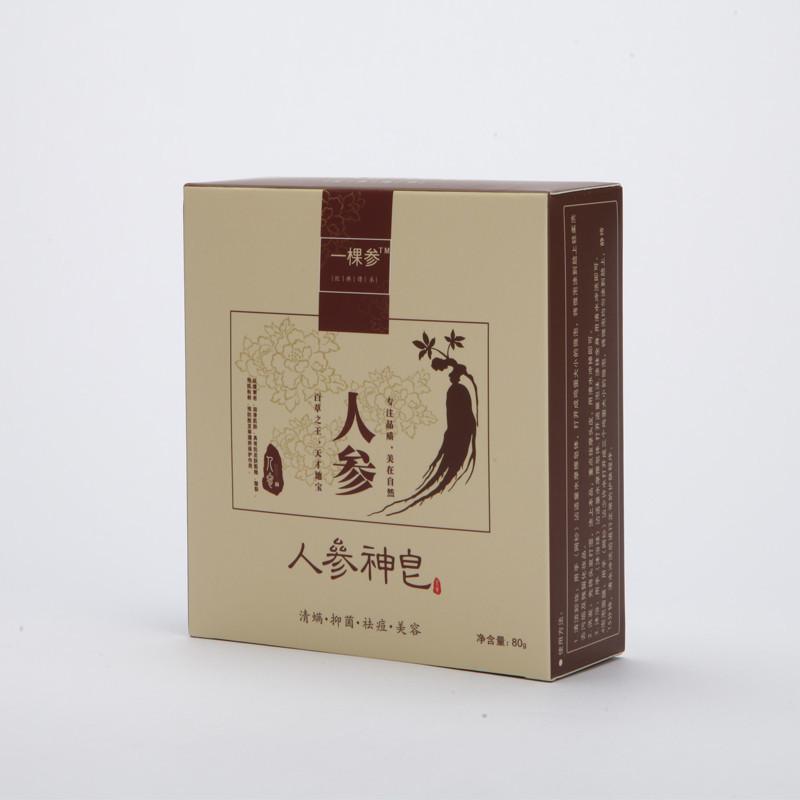 神皂�zi�9f�x�_一棵参 人参神皂 80g/盒