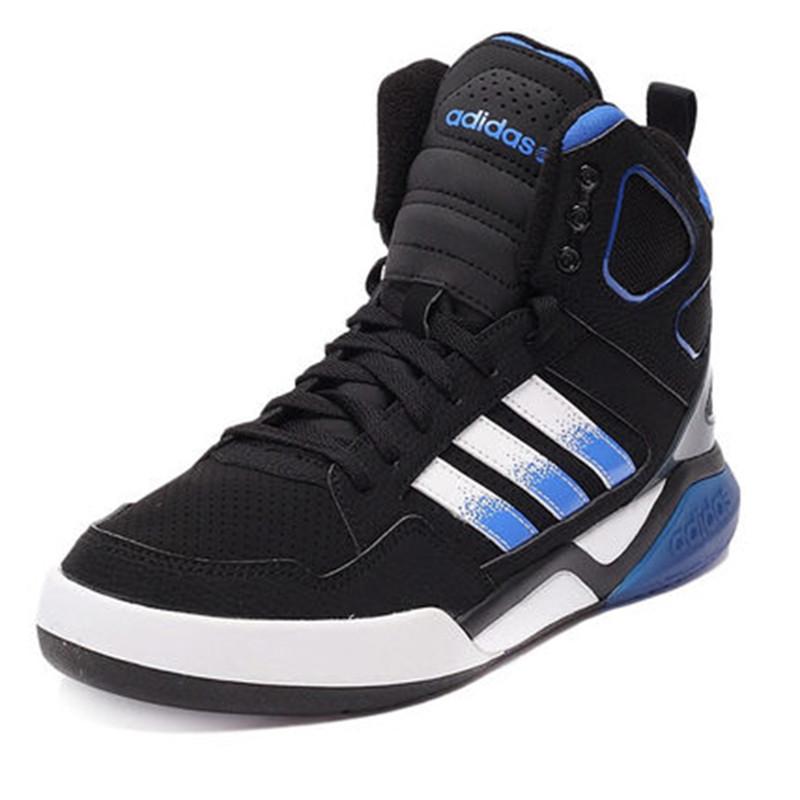 adidas阿迪达斯男鞋 新品neo高帮运动鞋休闲鞋拼色生活板鞋f98774图片