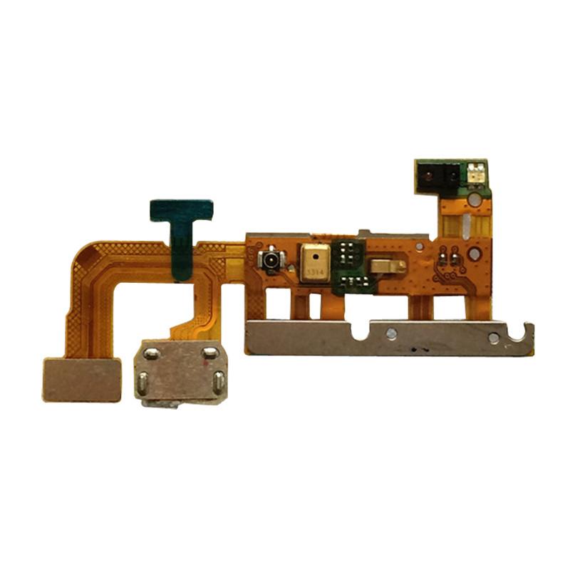 华为原装原厂尾插排线小板送话器充电口 适用于华为p6图片