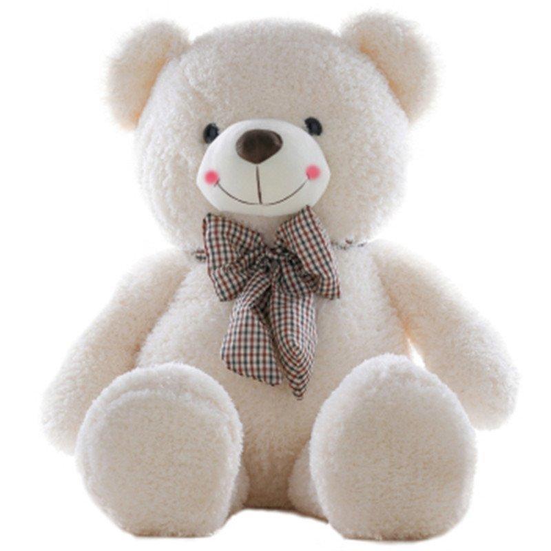 毛绒玩具熊1米6 大号泰迪熊小熊熊公仔狗熊抱抱熊狗熊 洋娃娃布娃娃女