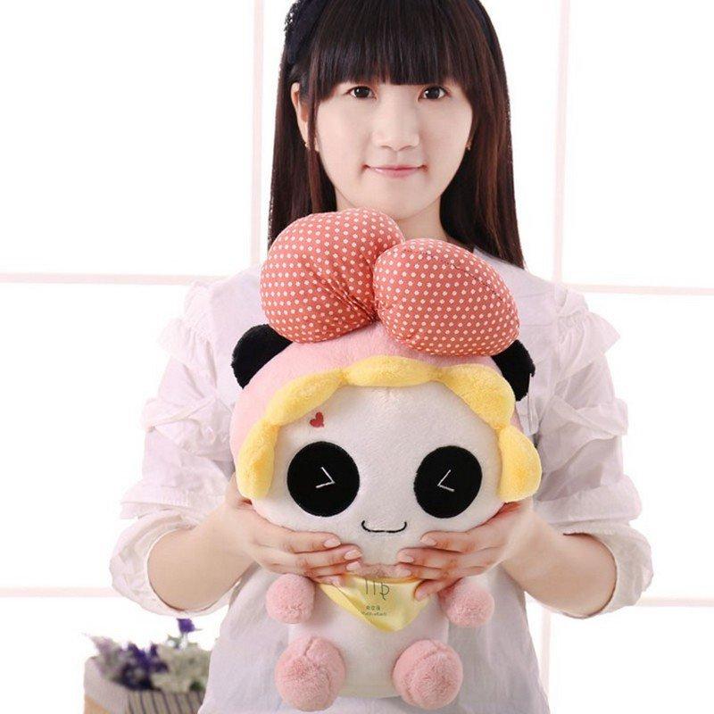 朵啦啦 熊猫十二星座 毛绒玩具大号布娃娃玩偶 生日礼物 女生 代写