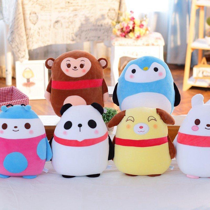 朵啦啦 泡沫粒子动物三代抱枕 毛绒玩具大号布娃娃玩偶 生日礼物 女生