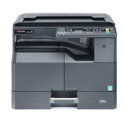 京瓷(KYOCERA)2010和2011系列A3黑白激光打印机复印机彩色扫描一体机数码复合机主机 标配+双面器
