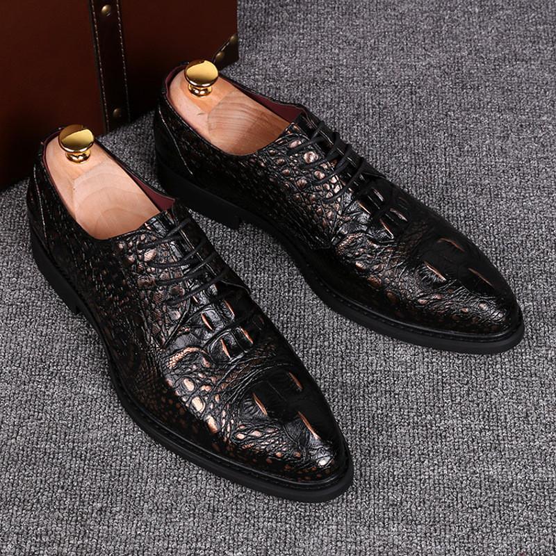 男士商务正装皮鞋个性欧版超尖头发型师男鞋英伦风青年休闲婚鞋黑图片