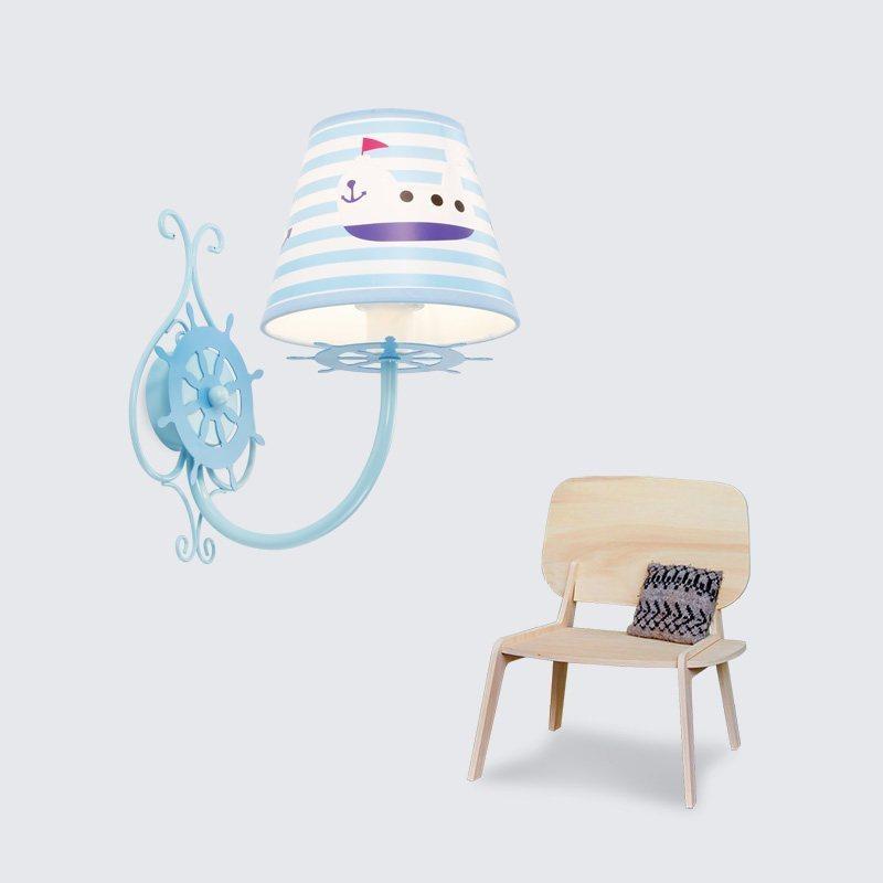雷士照明 缤纷海洋 儿童壁灯卡通可爱书房卧室房间床头灯温馨创意浪漫