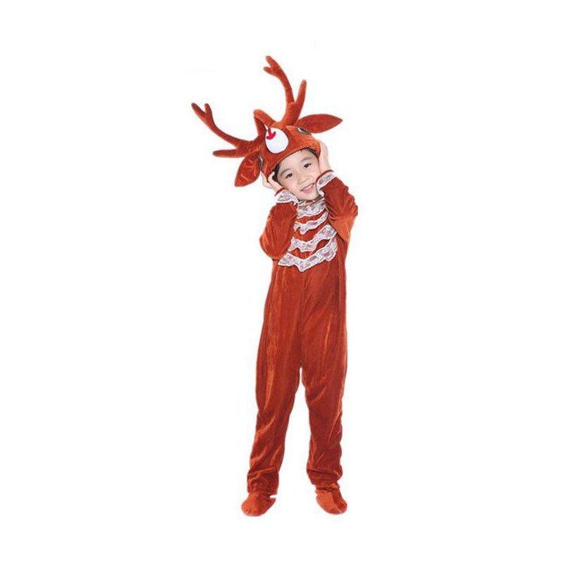 2016新款时尚六一驯鹿儿童动物表演服/麋鹿动物演出服