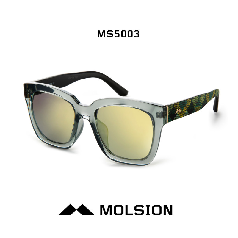 molsion陌森热潮韩式简约方形大框造型太阳镜墨镜太阳眼镜ms5003