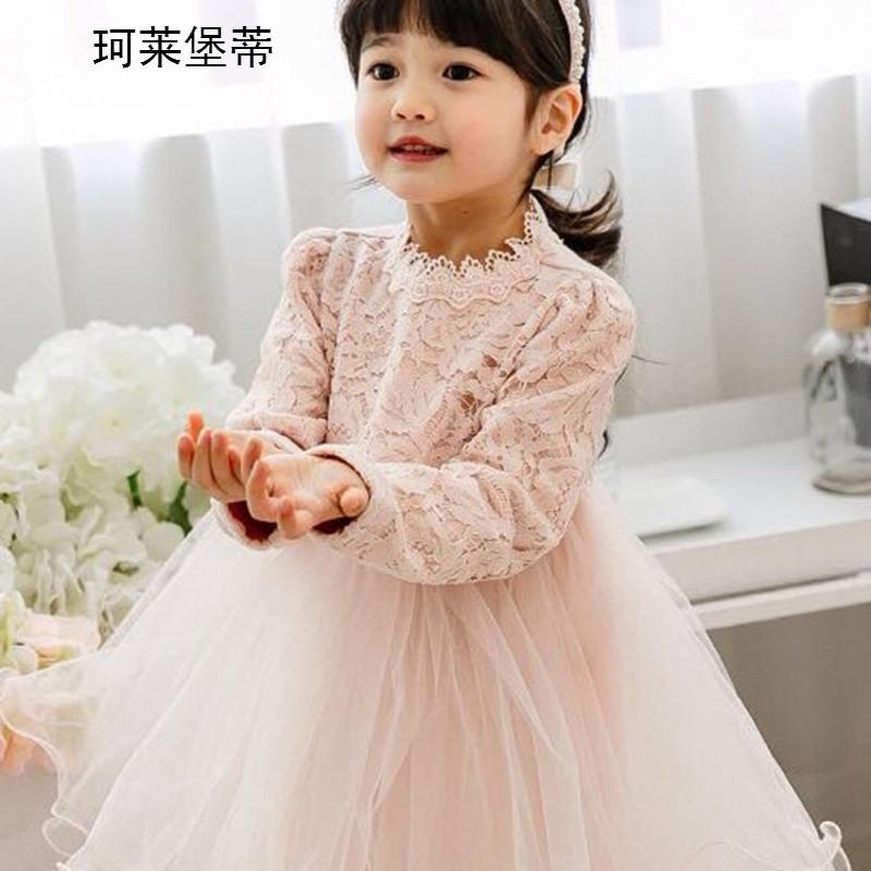 珂莱堡蒂蕾丝网纱拼接裙 可爱公主连衣裙bqy-922