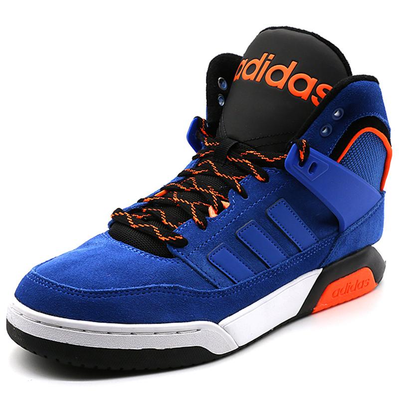 adidas阿迪达斯新款neo男鞋高帮耐磨运动休闲鞋板鞋 f图片